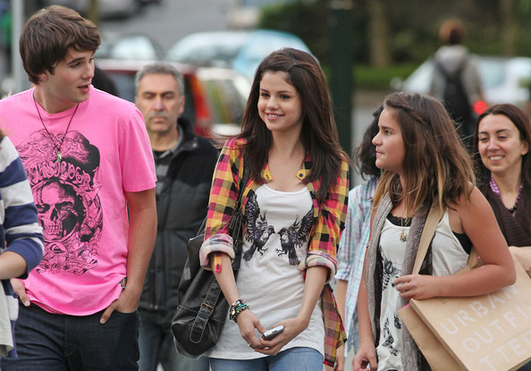 pictures of selena gomez sister. Hutch Dano and Selena Gomez