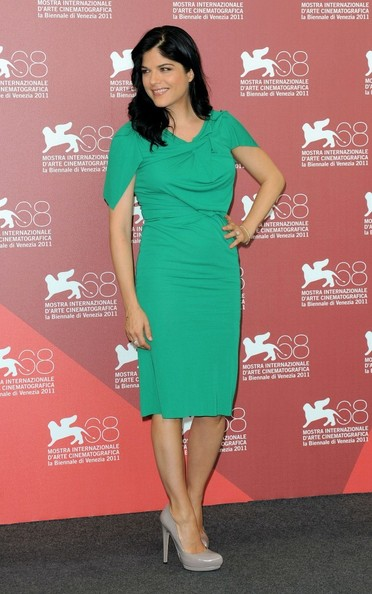 Selma Blair promotes her film, 'Dark Horse' at the 68th Venice Film Festival.