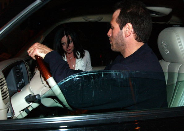 Rick Salomon and Shannen Doherty - Shannen Doherty and Rick Salomon at a ...
