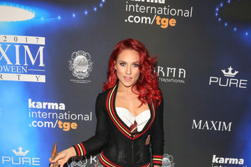 Sharna Burgess Maxim Magazine's Annual Halloween Party