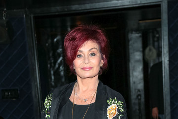 Sharon Osbourne Sharon Osbourne Outside Avalon Nightclub In Hollywood