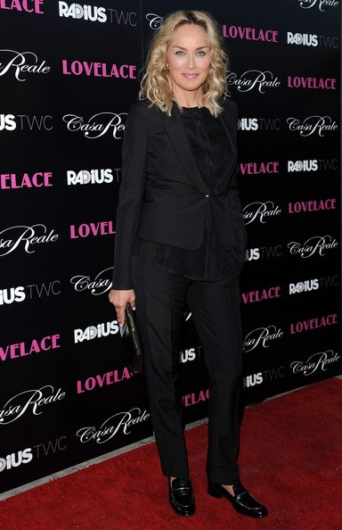 Sharon Stone - 'Lovelace' Premieres in Hollywood