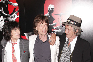 The Rolling Stones Mick Jagger 'Shine a Light' premiere