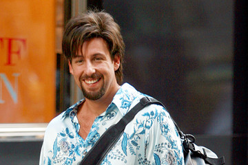 "Adam Sandler Adam Sandler On the Set of ""You Don't Mess With the Zohan"""