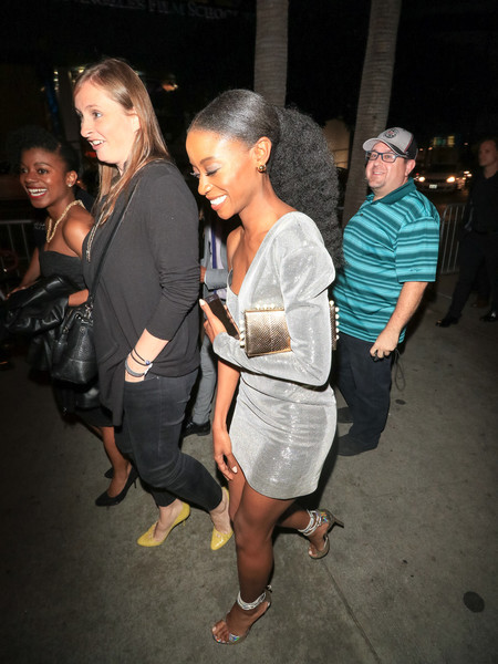 Sibongile Mlambo Outside Lure Nightclub In Hollywood