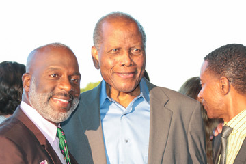 Sidney Poitier Opening Night of 'Born for This'