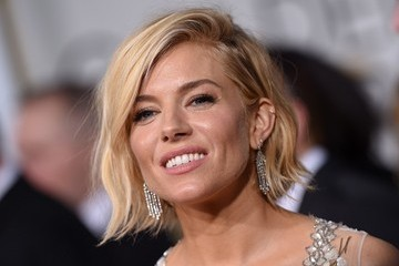 Sienna Miller Arrivals at the Golden Globe Awards