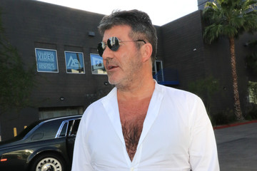 Simon Cowell Simon Cowell Heads Out In L.A.