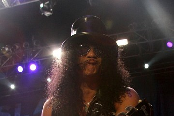 Slash Slash Performs in Mexico City