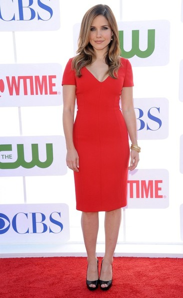 Sophia Bush CBS, The CW & Showtime 2012 TCA Party.The Pagoda, Beverly Hills, CA.