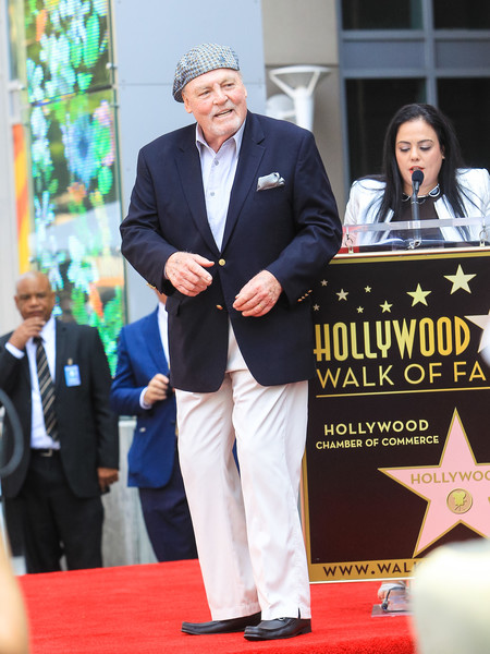 Stacey Keach Hollywood Walk Of Fame Star Ceremony