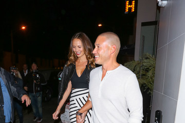Stacy Keibler Stacy Keibler and Jared Pobre at Catch