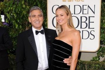 Stacy Keibler George Clooney 70th Annual Golden Globe Awards