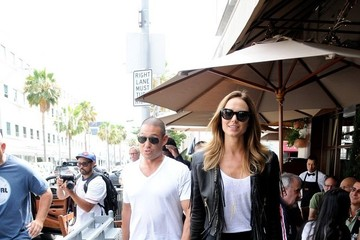 Stacy Keibler Stacy Keibler and Her Husband Go to Lunch
