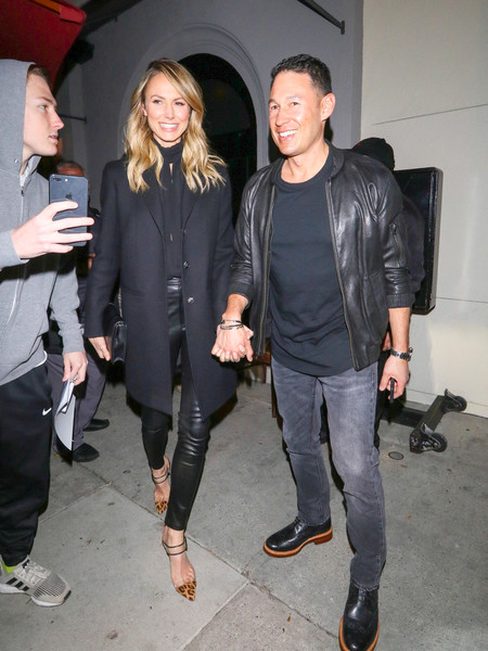 Stacy Keibler Hits Craig's Restaurant In West Hollywood