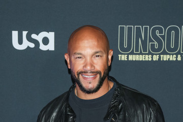 Stephen Bishop Premiere Of USA Network's 'Unsolved: The Murders Of Tupac And The Notorious B.I.G.'