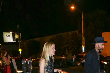 Stephen Kay Celebrities Are Seen at Catch Restaurant in West Hollywood
