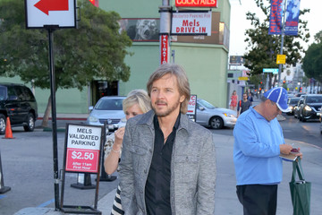 Stephen Nichols Celebrity Sightings at Mel's Diner