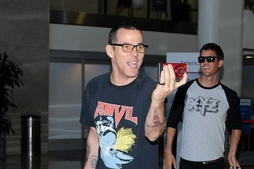Steve-O Steve O Arrives at LAX