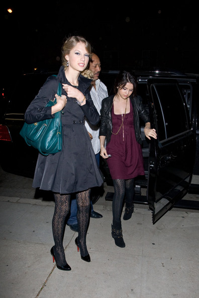 selena gomez out and about. Selena Gomez Taylor Swift and