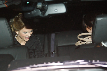 Selena Gomez Taylor Swift Swift & Gomez Out On The Town