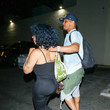 T.I. T.I. And Tameka Cottle Outside Delilah Nightclub In West Hollywood On July 14, 2019