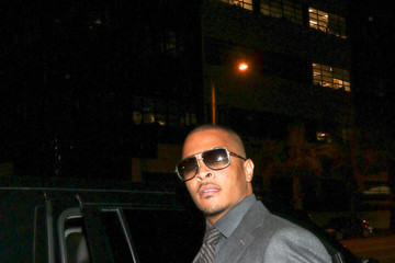 T.I. T.I. Is Seen Outside Peppermint Nightclub In West Hollywood