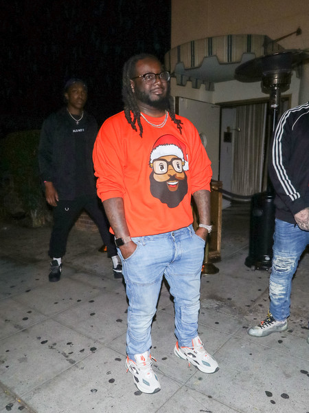 T-Pain Is Seen At The Nice Guy Nightclub