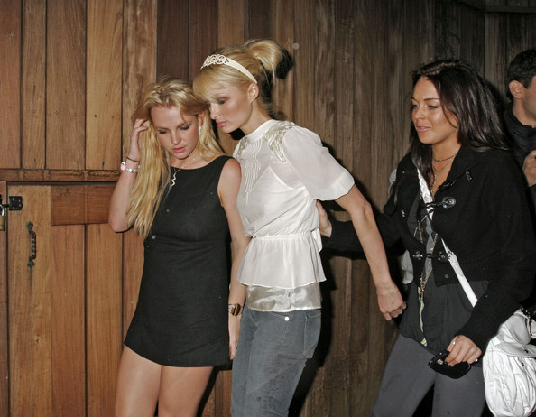 Paris Hilton Britney Spears And Lindsay Lohan In