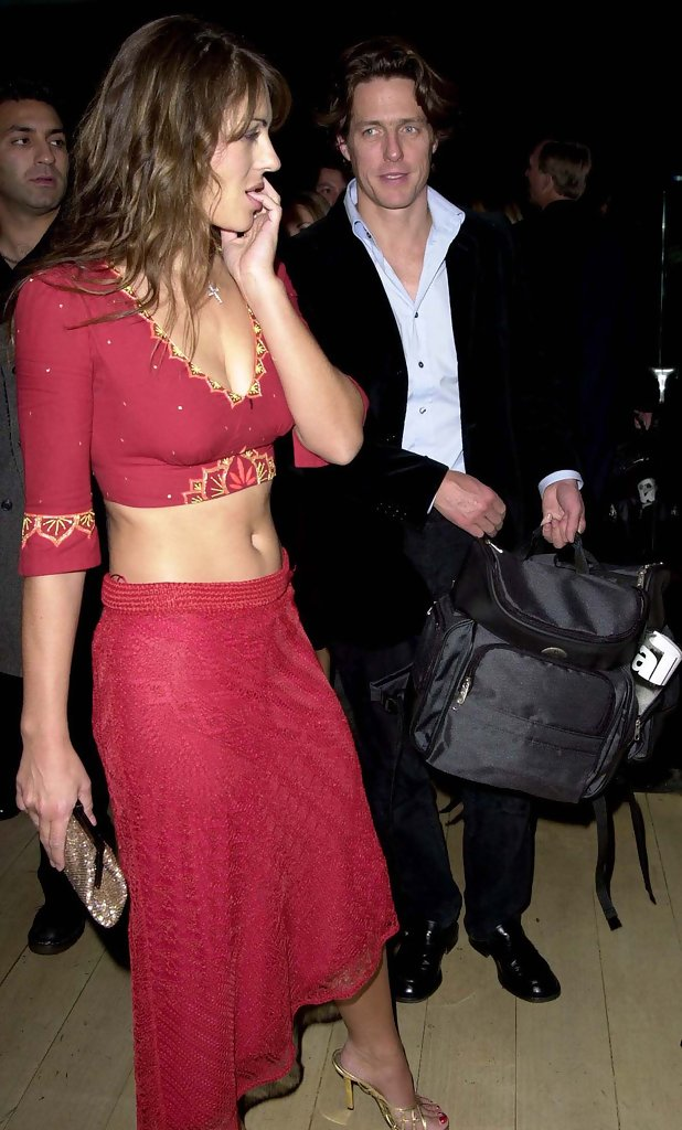 Elizabeth Hurley Hugh Grant / Hugh Grant Is A Father For ...