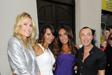 Tamara Ecclestone Lizzie Cundy Celes at the Movies Launch Party