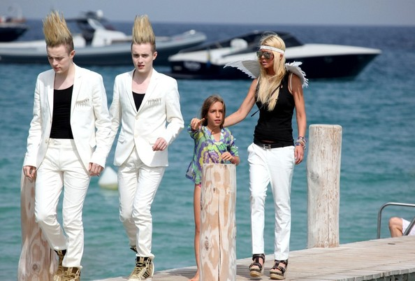 Tara Reid And Jedward Reunite At Club 55 Zimbio