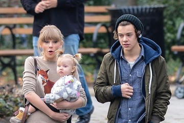 Taylor+Swift in Taylor Swift and Harry Styles Together in Central Park 2