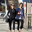 Teri Hatcher Teri Hatcher and Emerson Tenney Out in Los Angeles