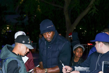 Terry Crews Celebrity Sightings at Los Angeles Lakers Game on Christmas