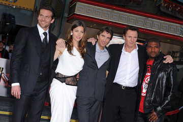"Jessica Biel Sharlto Copley ""The A-Team"" Premiere"