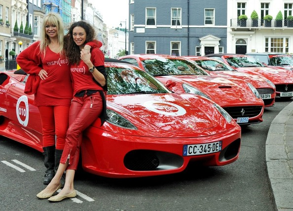Launch of The Cash and Rocket (Red) Tour Photocall at Berkeley Square Gardens.