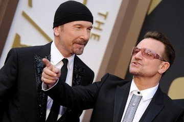 The Edge Arrivals at the 86th Annual Academy Awards