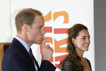 Kate+Middleton in Prince William and Kate Middleton at the Inner City Arts Youth Project