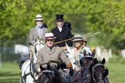 British Royals attend the 2012 Royal Windsor Horse Show.