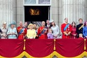 The British Royals celebrate the 86th birthday Queen Elizabeth II with the annual Trooping of the Colour military parade.