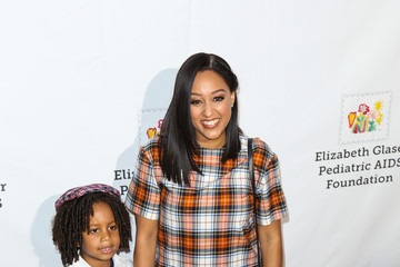 Tia Mowry Elizabeth Glaser Pediatric Aids Foundation 'A Time For Heroes' Family Festival