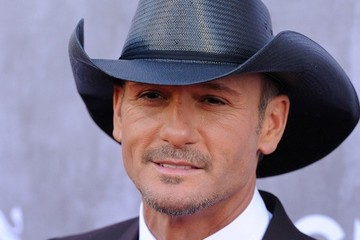 Tim McGraw Arrivals at the Academy of Country Music Awards