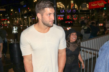 Tim Tebow Tim Tebow Is Seen Outside the 'THOR' Premiere at El Capitan Theatre