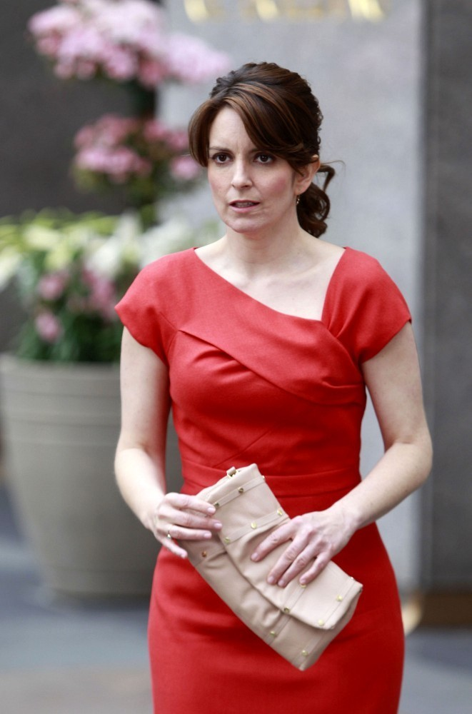 Tina Fey Photos Photos Tina Fey And James Marsden Film 30 Rock Zimbio