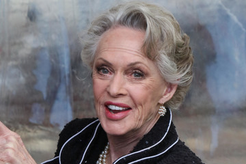Tippi Hedren Celebrity Sightings Outside the Hollywood Museum Oscar Viewing Party