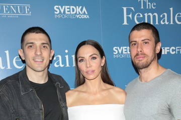 Toby Kebbell Emily Althaus, Stephanie Simbari Attend Premiere of IFC's 'The Female Brain'