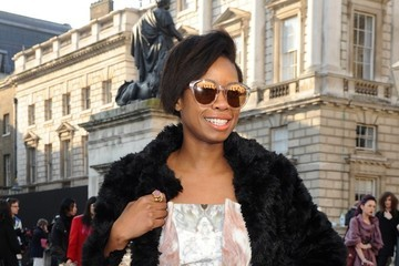 Tolula Adeyemi LFW: Somerset House Sightings