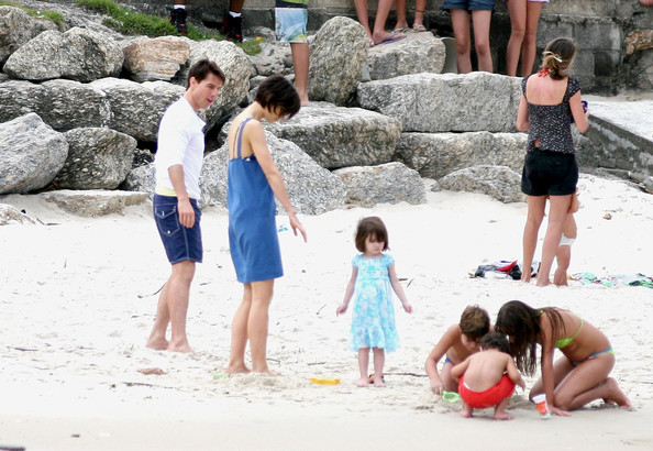 tom cruise and katie holmes and suri. Tom Cruise, Katie Holmes and