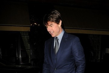 Tom Cruise Tom Cruise Steps Out in London